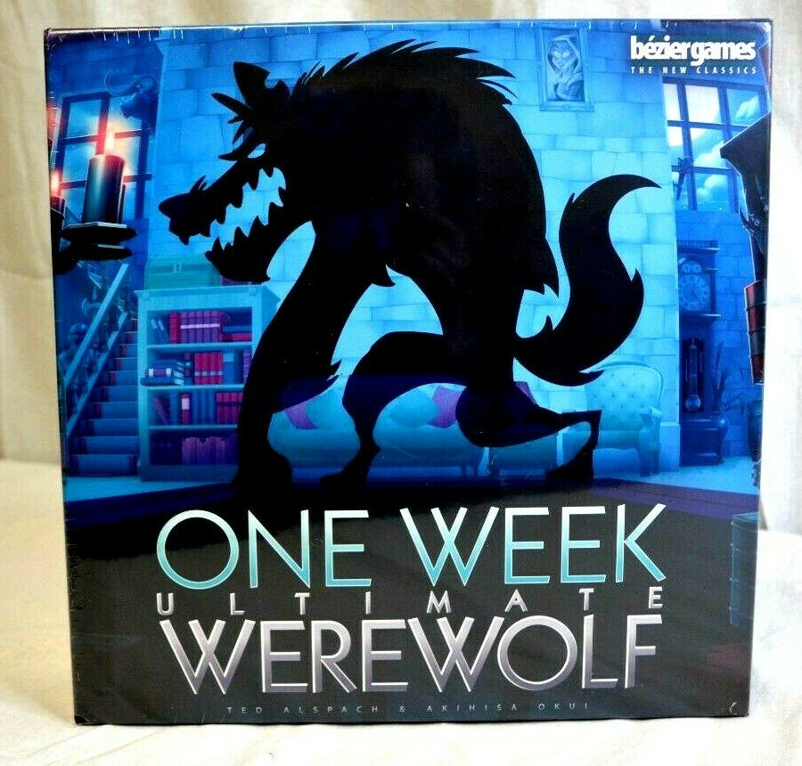 One Week Ultimate  Werewolf 3-7 Players Recommended for Ages 14+ nuovo Sealed  alta qualità e spedizione veloce
