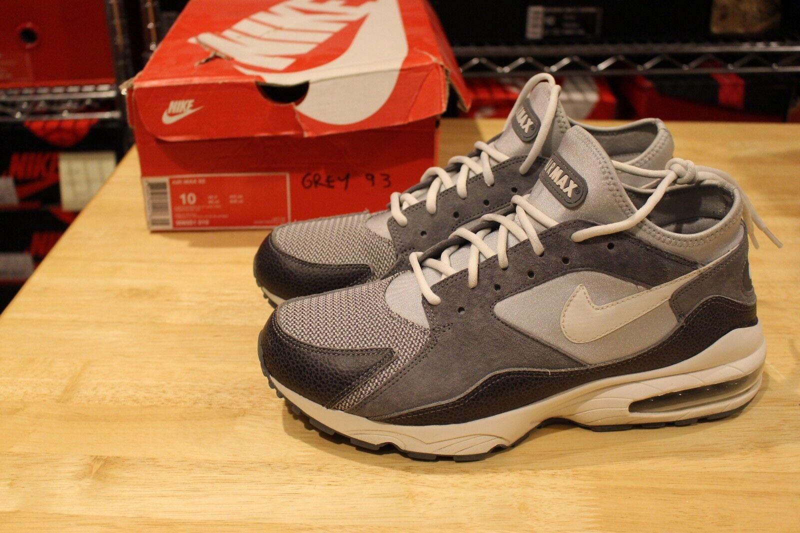 Nike Air Max 93 Metals Pack Pure Platinum Size 10 Powerwall Menthol Jordan Lot