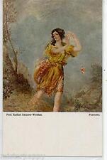 SCHUSTER-WOLDAN Pawlowa Dance Danza danzatrice PC Circa 1920