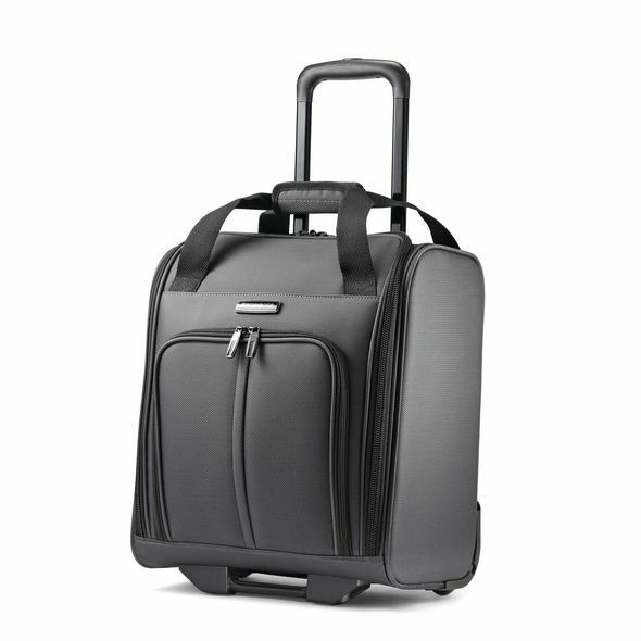 Samsonite Leverage LTE Wheeled Boarding Bag-Color Charcoal
