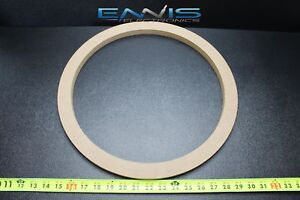 2 MDF SPEAKER RING SPACER 15 INCH WOOD 1//2 THICK FIBERGLASS BOX ENCLOSURE PORT