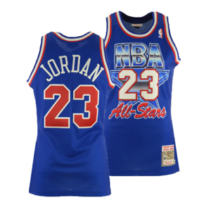 uk availability 7eec3 63185 Details about 100% Authentic Michael Jordan Mitchell Ness 1993 NBA All Star  Jersey Size:S-2XL