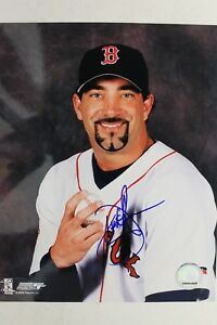 Dustin Hermanson Boston Red Sox Autographed 8x10 MLB Signed Photo 17H