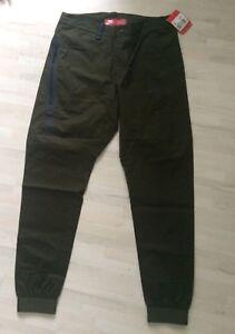 Nike-Tech-Bonded-Woven-Jogger-Hose-Hose-Pants-Cargo-Khaki-823363-347-Gr-32-M-NEU