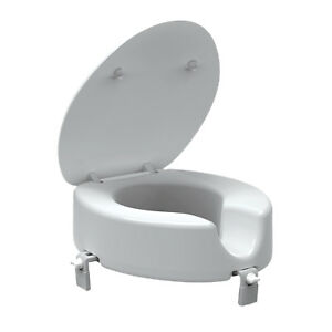 Groovy Details About New Evacare Toilet Seat Raiser 120Mm Rise Physio Approved Easy Clip On Gmtry Best Dining Table And Chair Ideas Images Gmtryco