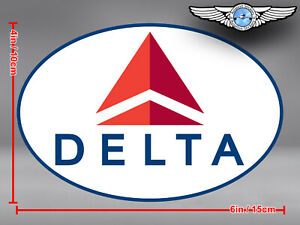DELTA-AIR-LINES-AIRLINES-NEW-OVAL-LOGO-DECAL-STICKER