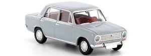 Brekina-22413-Fiat-124-grigia-scala-HO-1-87