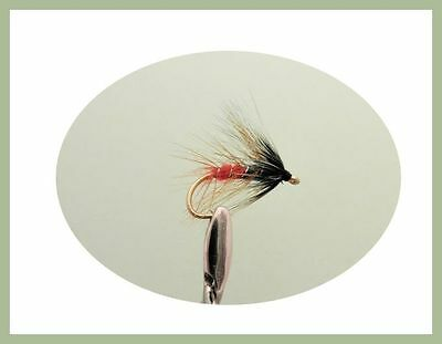 For Fly Fishing Choice 6 Pack Claret Bumbles Wet Trout Flies
