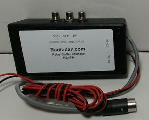 Details about Amplifier keying relay interface for Kenwood TS-790 VHF/UHF  buffer switching