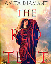 The RED TENT a novel by Anita Diamant FREE USA SHIPPING Dinah from the BIBLE!