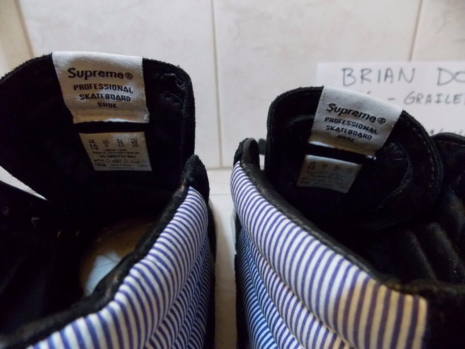 Supreme Comme Des Garcons Vans 10 SK8-Hi Größe 10 Vans 775538