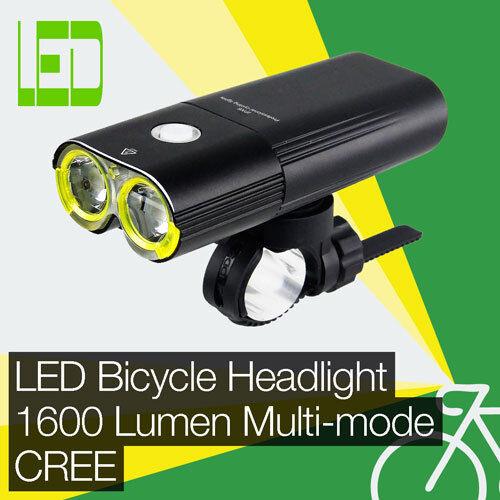 High energia 1600LM LED BiciMoto FaroLuce Anteriore CREE