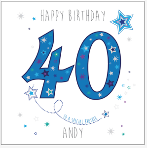 Image Is Loading Personalised 40th 30th Birthday Card Uncle Brother Son