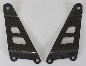 100/% Plain Weave Carbon Fiber Suzuki TL1000S All Years Exhaust Bracket