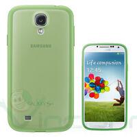 PELLICOLA+Custodia rigida COVER PLUS originale Samsung p Galaxy S4 i9505 VERDE
