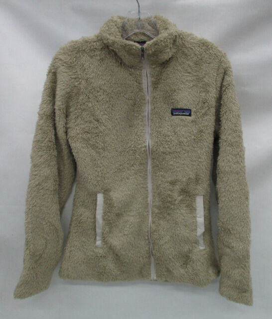 5cd4105a35391 Patagonia Womens Los Gatos Full Zip Fuzzy Fleece Jacket El Cap Khaki ...