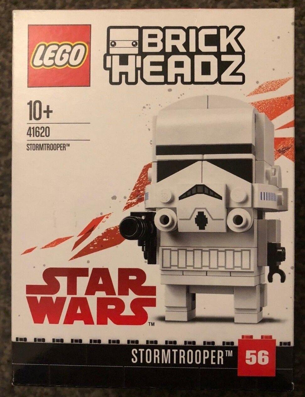 Lego 41620 brickheadz #56 Stormtrooper Star Wars Figure | Une Grande Variété De Modèles