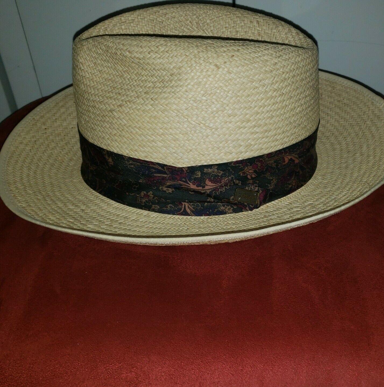 Vintage Kangol XL Straw Summer Hat - image 7