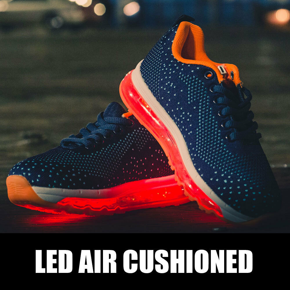 US Cali Women Women Women LED Light Up Air Cushioned Sneakers Running Athletic Tennis shoes c70bfd