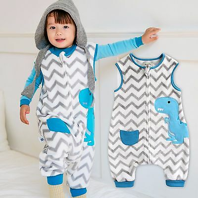 """Beautiful Vaenait Baby Toddler Kids Tog2 Super Soft Blanket Sleepsack """"mf.papa Dino"""" 1t-7t Can Be Repeatedly Remolded."""