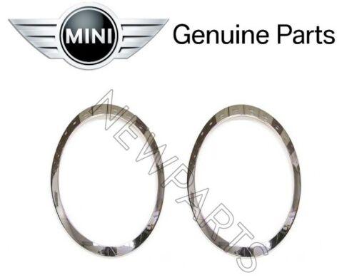 For Cooper Clubman F54 Pair Set of Left /& Right Headlight Trim Rings Genuine