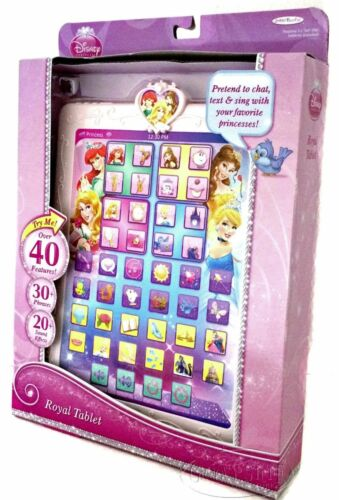 Disney Princess Royal Tablet Chat Sing Text Pretend 30 Phrases Sound Effects