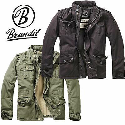 Brandit Herren Britannia Winter Jacket 9390 Sicherheit Feld Jacke Mantel Parka