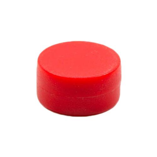 Magnetastico®Starke Neodym Magnete mit Schutzschicht 12x6 mmFarbe Rot
