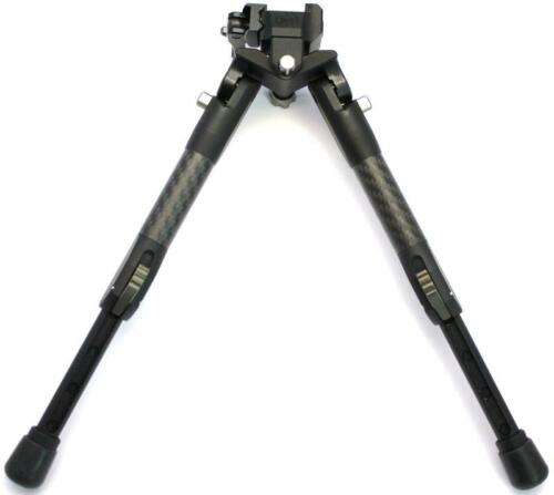 Tier One Carbone Tactique bipode 180 mm Pan Tilt