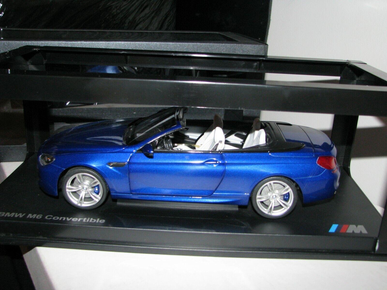 Paragon BMW M6 Converdeible 1 18 edición del Distribuidor San Marino blu