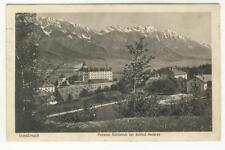 AK Innsbruck, Pension Schönruh b. Schloss Ambras 1923