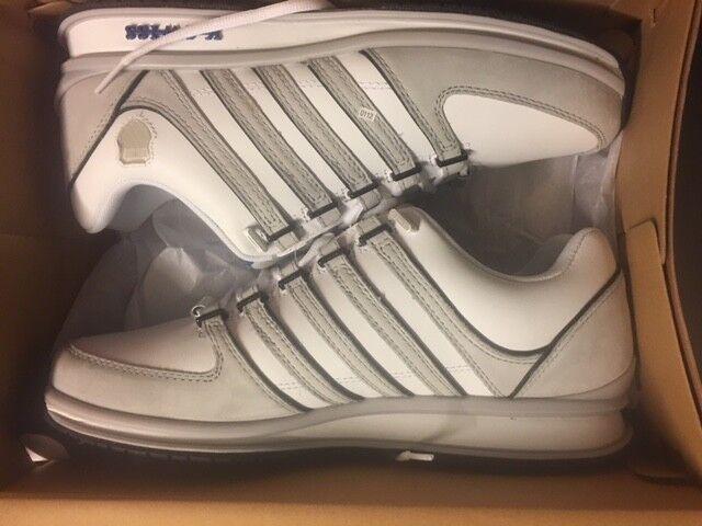 K-Swiss Rinzler nuevo sp nuevo Rinzler gr:44, 5 us:11 Blanco/Gris 02283188 cortos zapatos Low 27a219