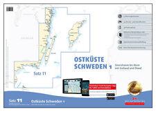 DK Satz 11, Ostsee - Ostküste Schweden 1, Gotland / Öland # Papier + digital App