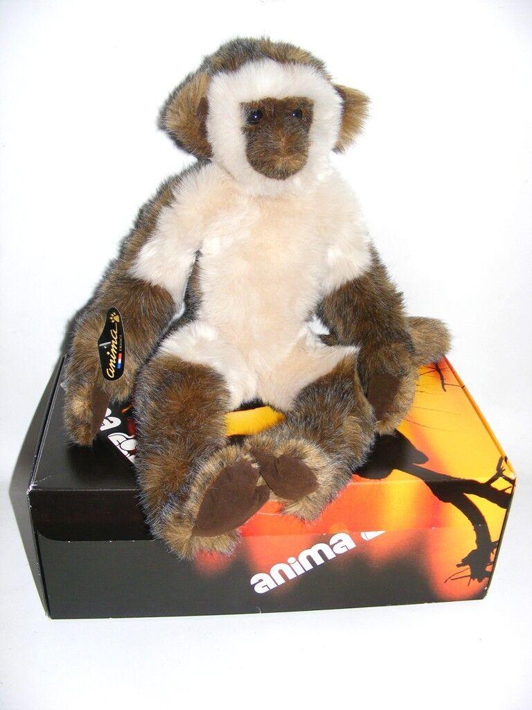ANIMA FRANCE VINTAGE Gibbon Singe Ouistiti 45 cm NEUF NEW RARE Introuvable