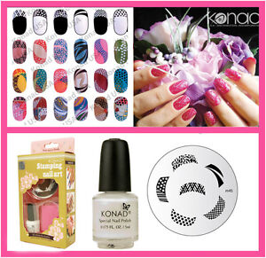 Konad-Stamping-Nail-Art-Basic-Set-S-Include-M45-French