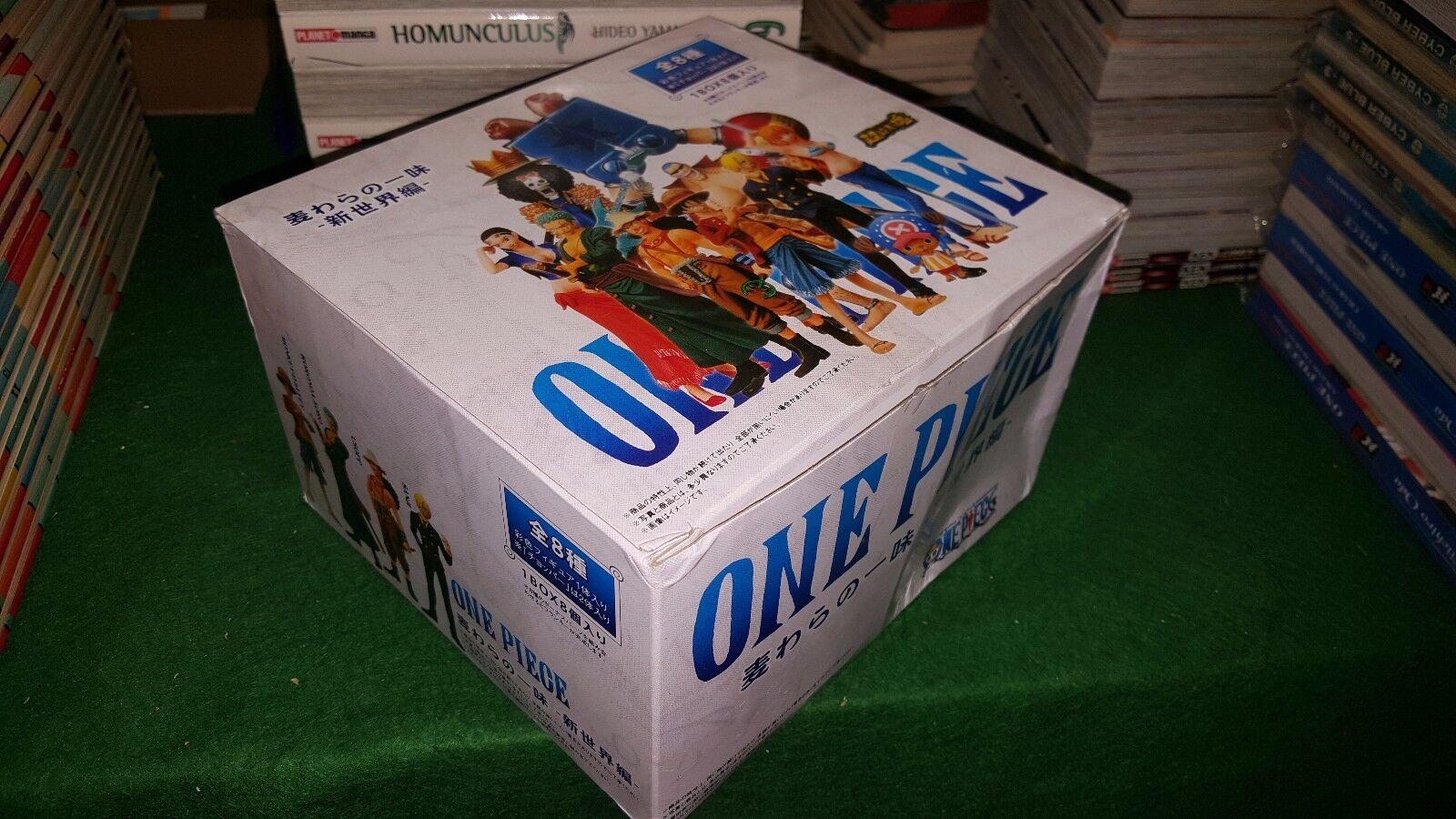 ONE PIECE ACTION FIGURA 1BOX8 SUPER MODELING 8 PEZZI