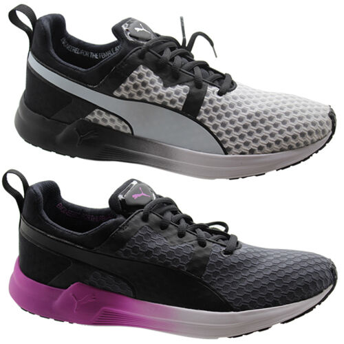 Puma Pulse Running Xt Core Donna Trainers Running Pulse Shoes Grey White Lace Up 188558 U83 28775d