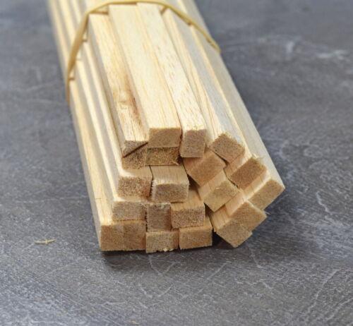 A25 BALSA WOOD STRIP 1/4 x 3/8 - 6.5mm x 9.5mm Length 12 Pack of 45