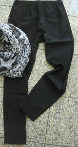 Sheego-Trousers-Treggings-Leggings-Size-46-to-58-Black-089-384-659-620