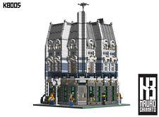 Lego® Custom Instructions - Modular Buildings - K8005 Bookshop
