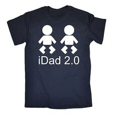 0b6b4f09d81e Original and Mini Cute Dad Baby Boy Shirts Funny Fathers Day Gifts ...