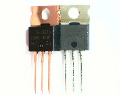 5 x International Rectifier irl3215pbf N-channel preamplificatore MOSFET allo transistor 12A 150V