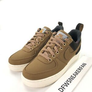 Details about Nike AF1 x Carhartt Air Force One WIP Men's 7WMS 8.5 Ale Brown Shoes AV4113 200