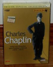 CHARLES CHAPLIN ORIGENES DEL CINE 4 DVD 1915-1917 NUEVO PRECINTADO (SIN ABRIR)