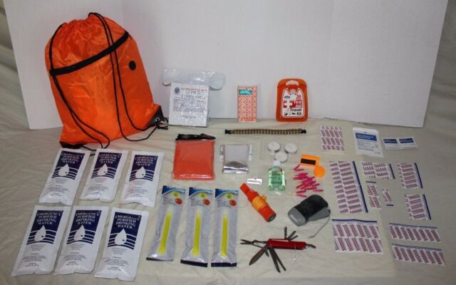 3 Day Survival Kit Disaster Preparedness Emergency Food Water Gear 72 Hour BOB