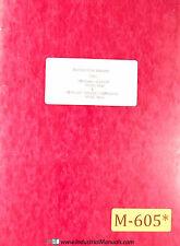 Micro Vu Display Md 1 M 14 Comparator Manual 1979