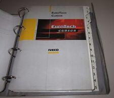 Werkstatthandbuch Iveco Euro Tech Cursor Motor Getriebe Bremsen Achse Stand 1998