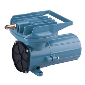 Dc12v Permanent Aquarium Air Compressor Pump Fish Pond Inflated Aerator 38 68l M Ebay