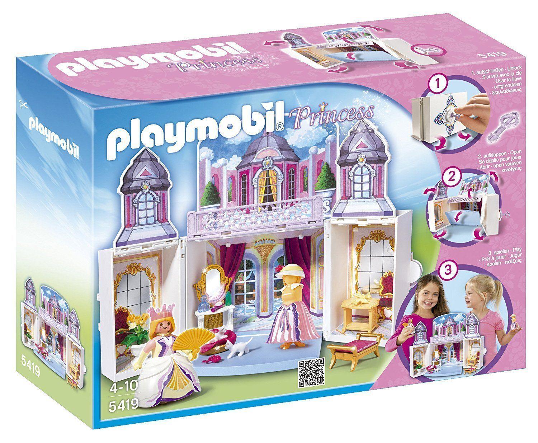 NEW  PLAYMOBIL 5419 - PRINCESS - MY SECRET PLAY BOX PRINCESS CASTLE
