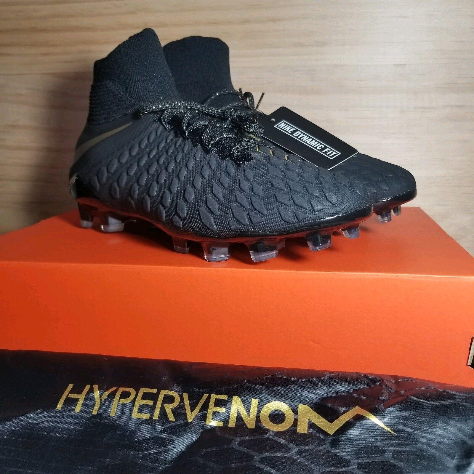 a5ed1d228 Nike Nike Nike Mens Hypervenom 3 Elite DF FG Soccer Cleats  AJ3803 090  Size